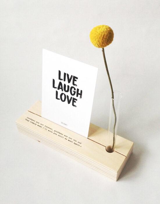 By Romi: Memory shelf met mooie tekst