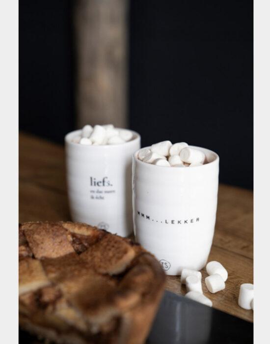 Zusss: Koffietas met tekstje