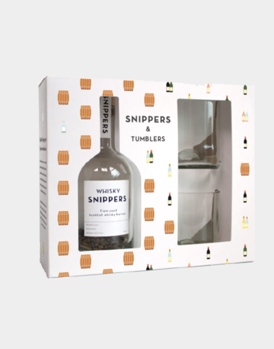 Snippers: Giftpack met 2 whisky glazen
