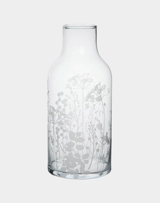 Räder: Glazen vaas bloemenprint