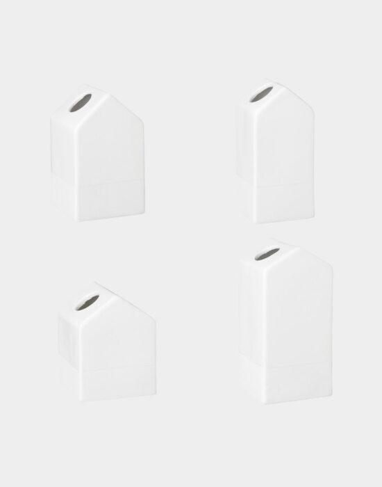 Räder: Set mini vaasjes huisjes