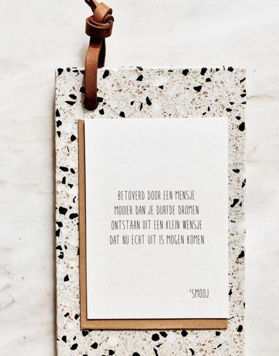 Gedichtje 'Smooj': Betoverd door een mensje