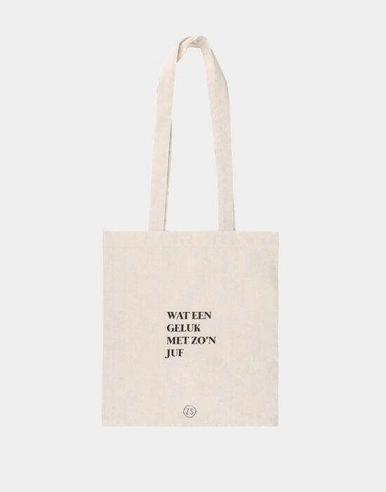 Zusss: Katoenen tasje voor de juf