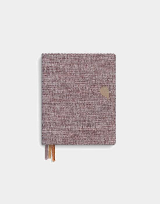 Tinne en Mia: Notebook A6, rose dust