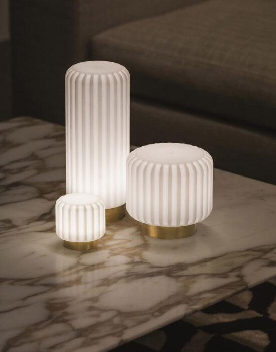 Atelier Pierre: Dentelles lampen